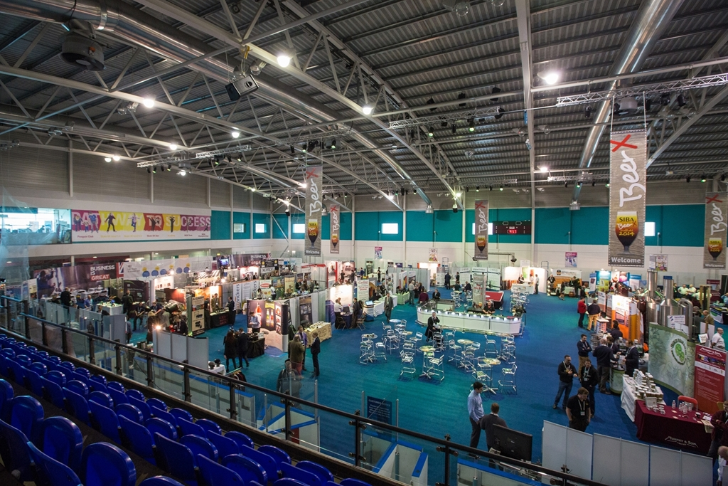 Exhibition at ice Sheffield