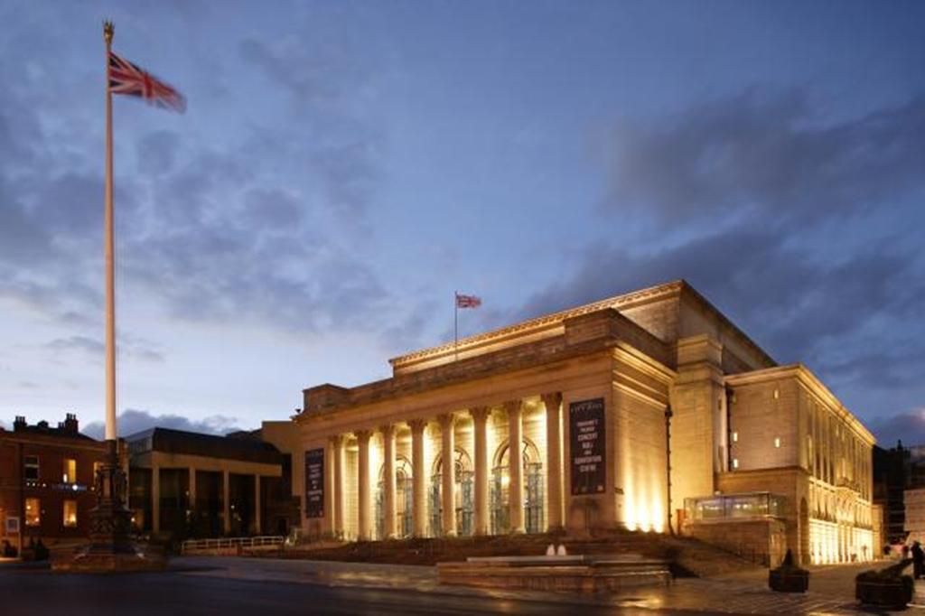 Sheffield City Hall external