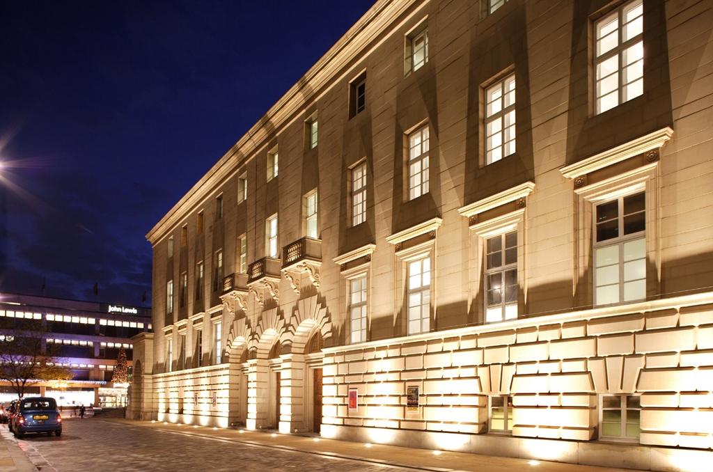 Sheffield City Hall external shot