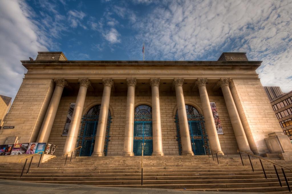 Sheffield City Hall entrance