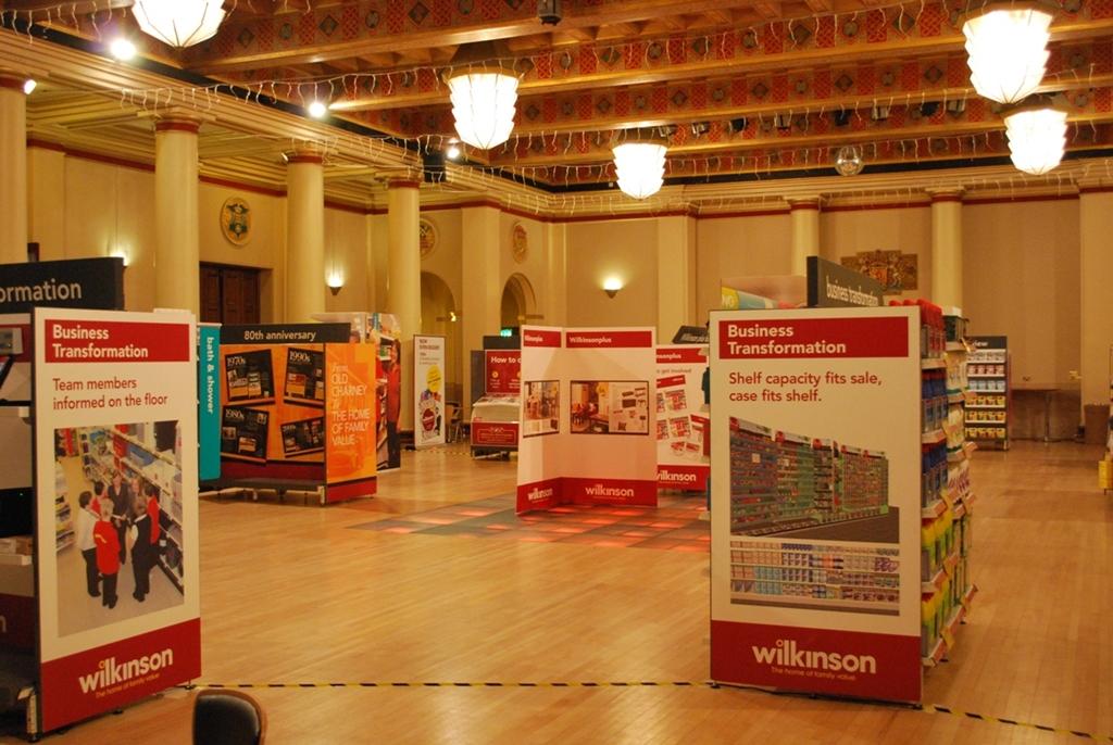 Exhibition in Ballroom