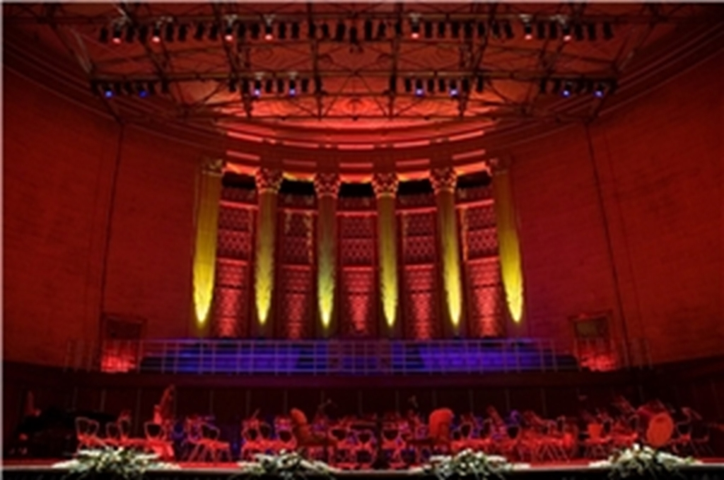 Oval Hall Organ