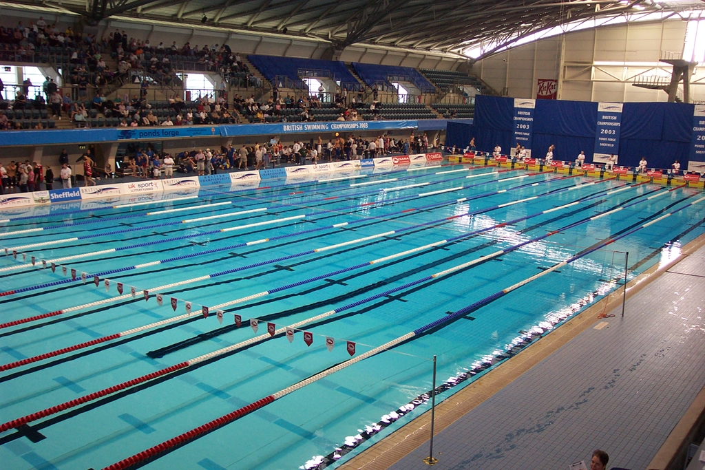 Ponds Forge ISC International Swimming Pool