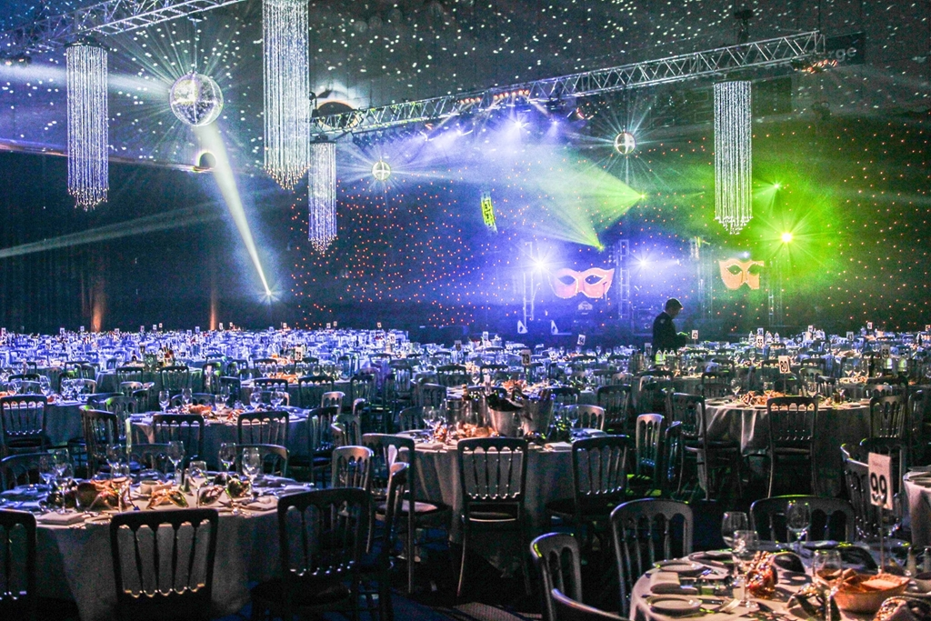 Banquet in the International Sports Hall