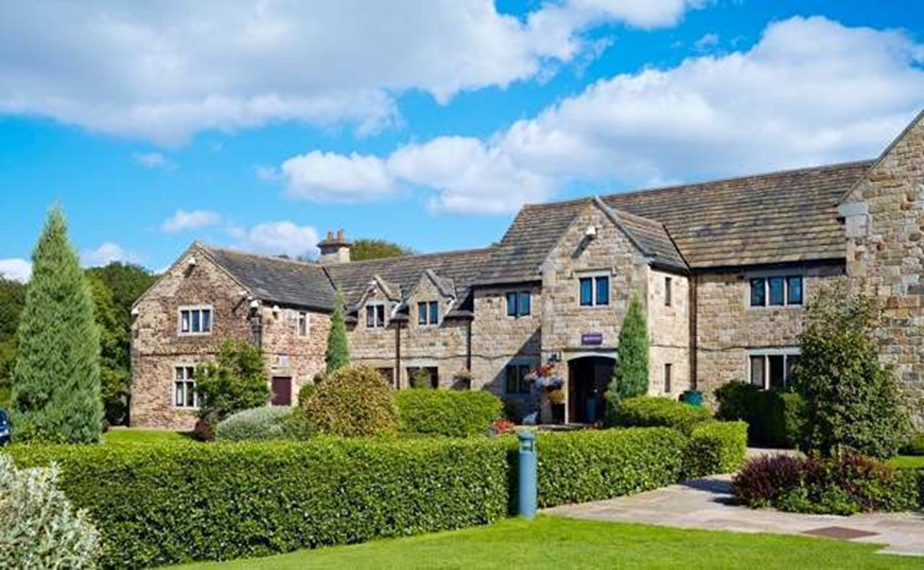 Tankersley Manor Hotel -Front Entrance
