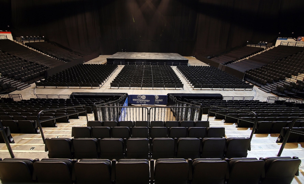 The Steel Hall - Theatre Style
