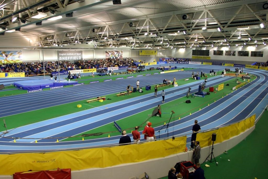 Athletics Competition in the Athletics Hall