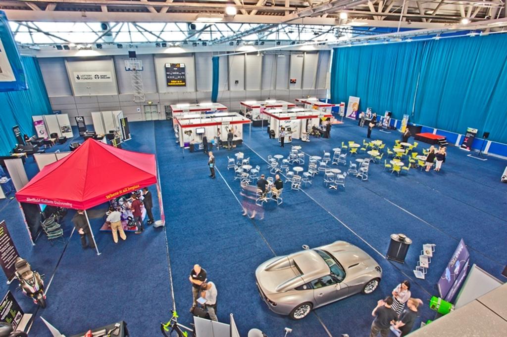 Exhibition in the Badminton Hall