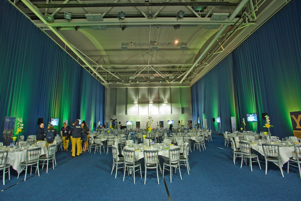 Banquet in the Badminton Hall