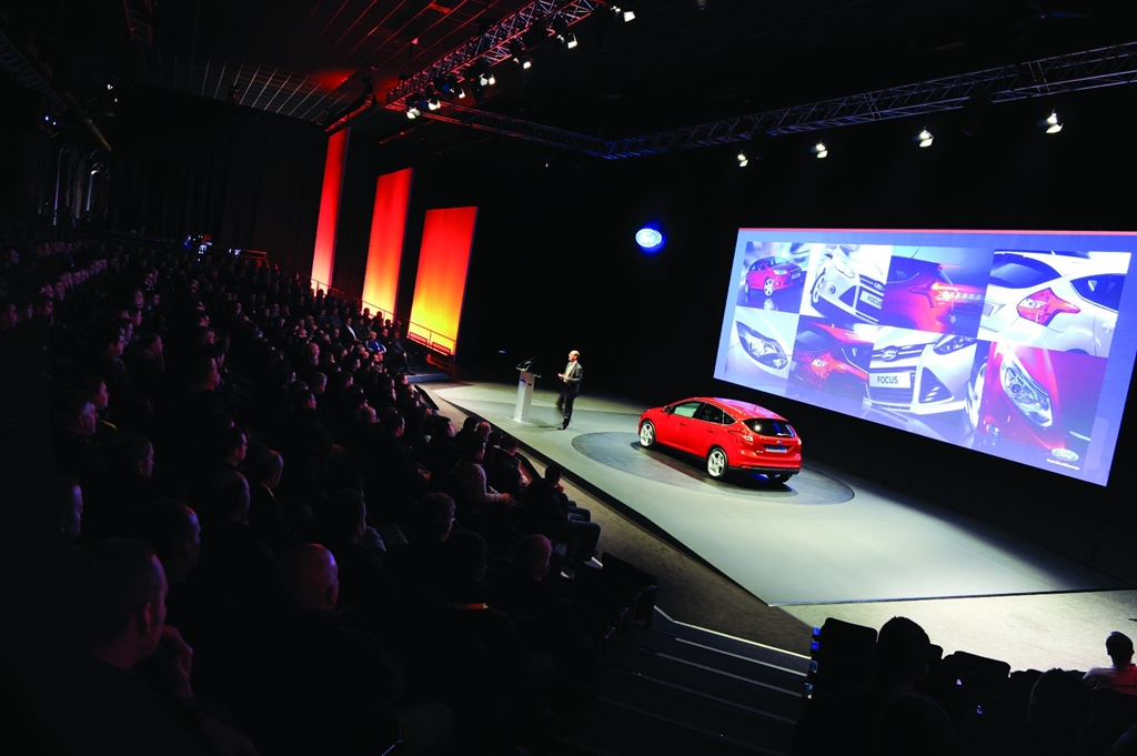 The Big Hall - Car launch and conference for 500 theatre