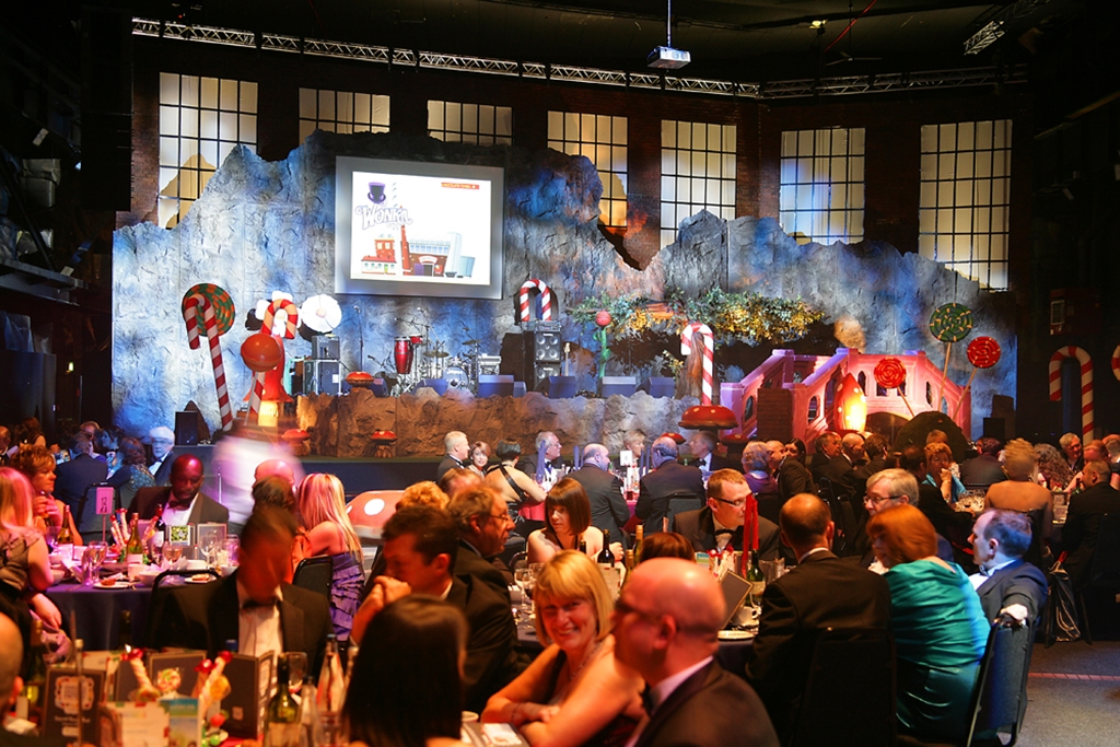 Themed dinner in the Big Hall