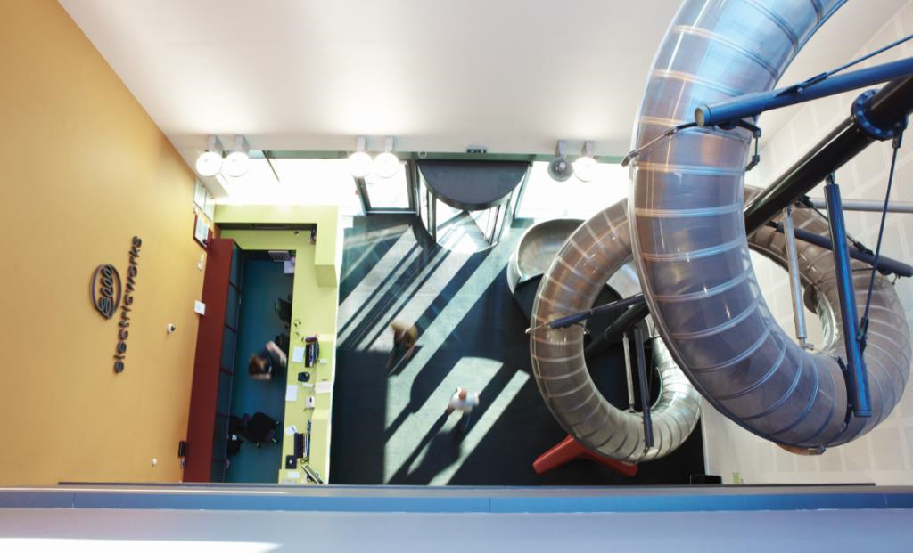 3 storey indoor helter skelter, open to all guest and clients between 8:30am and 5:30pm.
