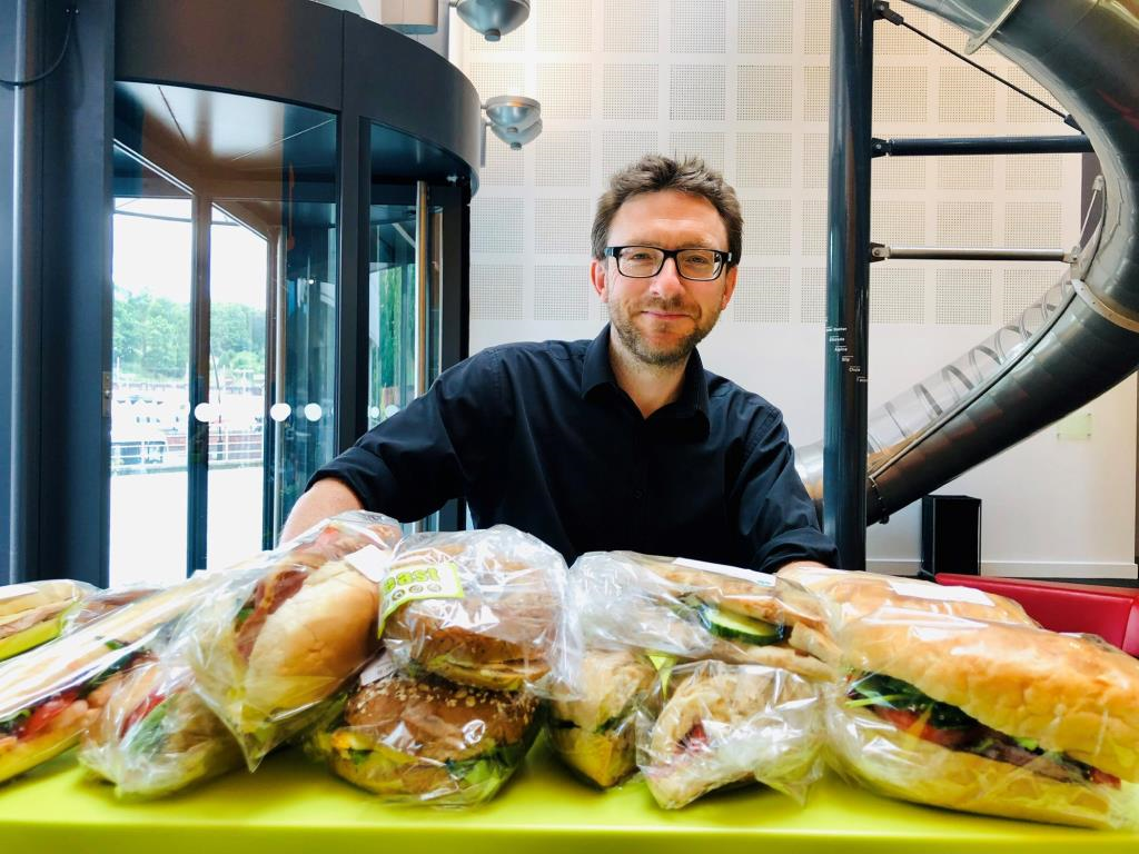 Fresh sandwiches delievered daily.