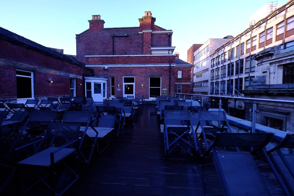 Sheffield Rooftop terrace