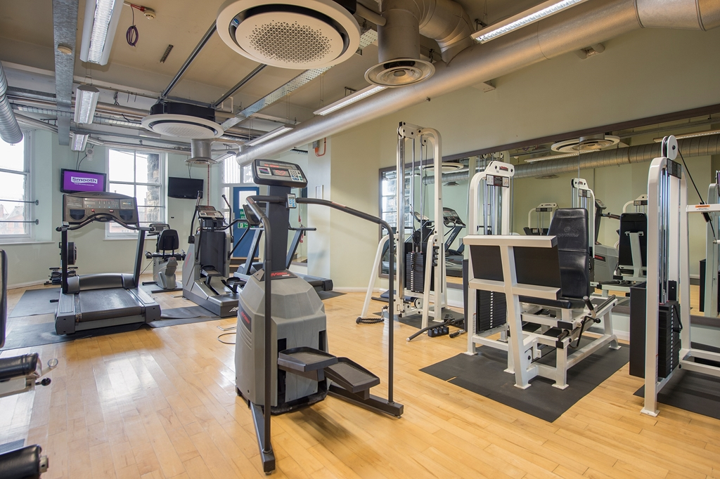 Crowne PLaza Royal Victoria Sheffield's In house Gym