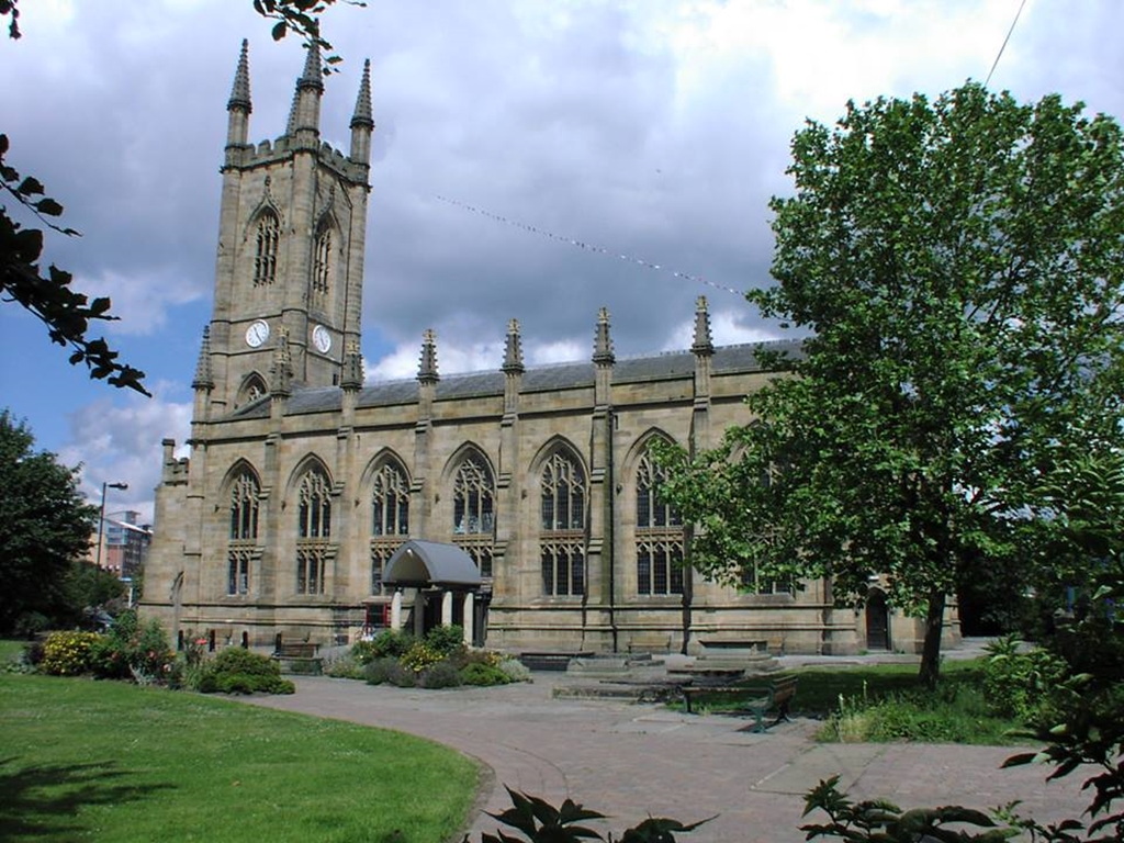 Outside view of St Mary's Conference Centre