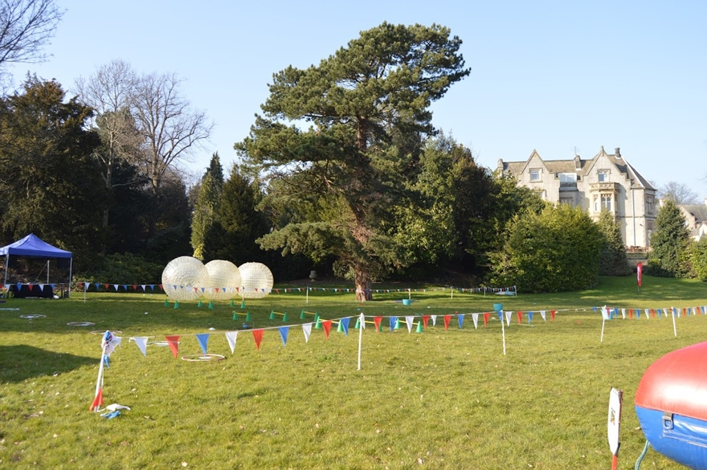 Wacky Races and Zorb at Kenwood Hall