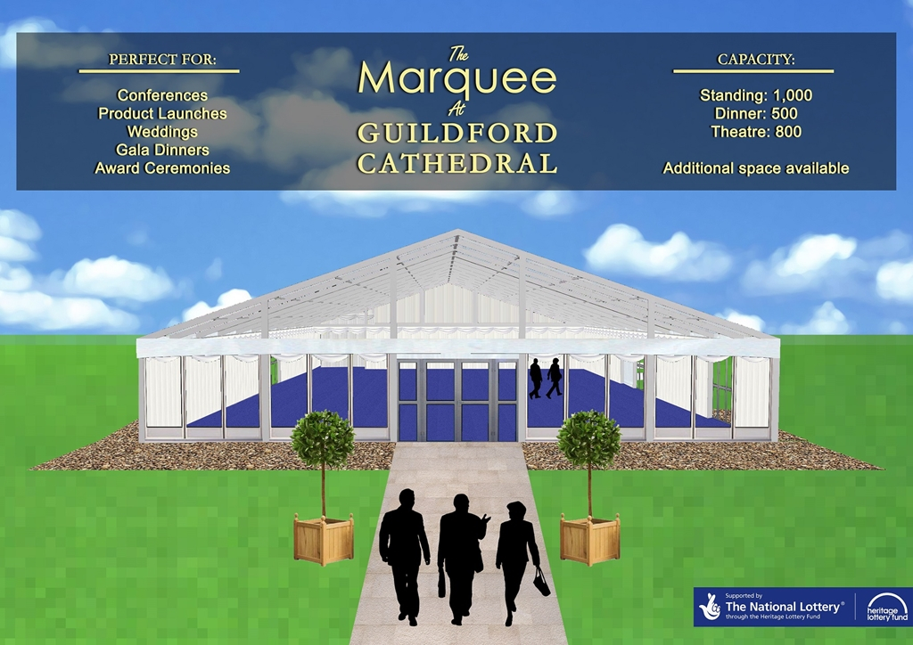 The Marquee at Guildford Cathedral
